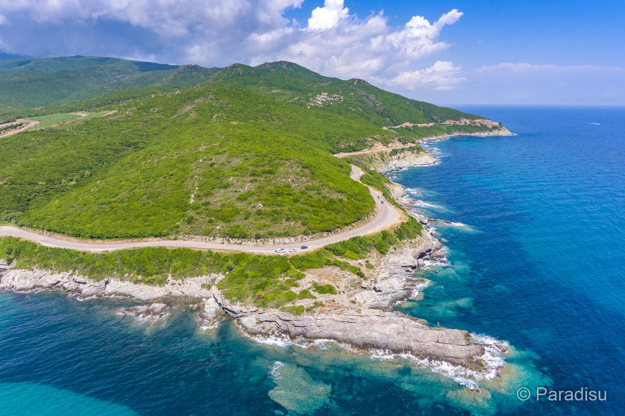Cap Corse Küstenstrasse Ostküste