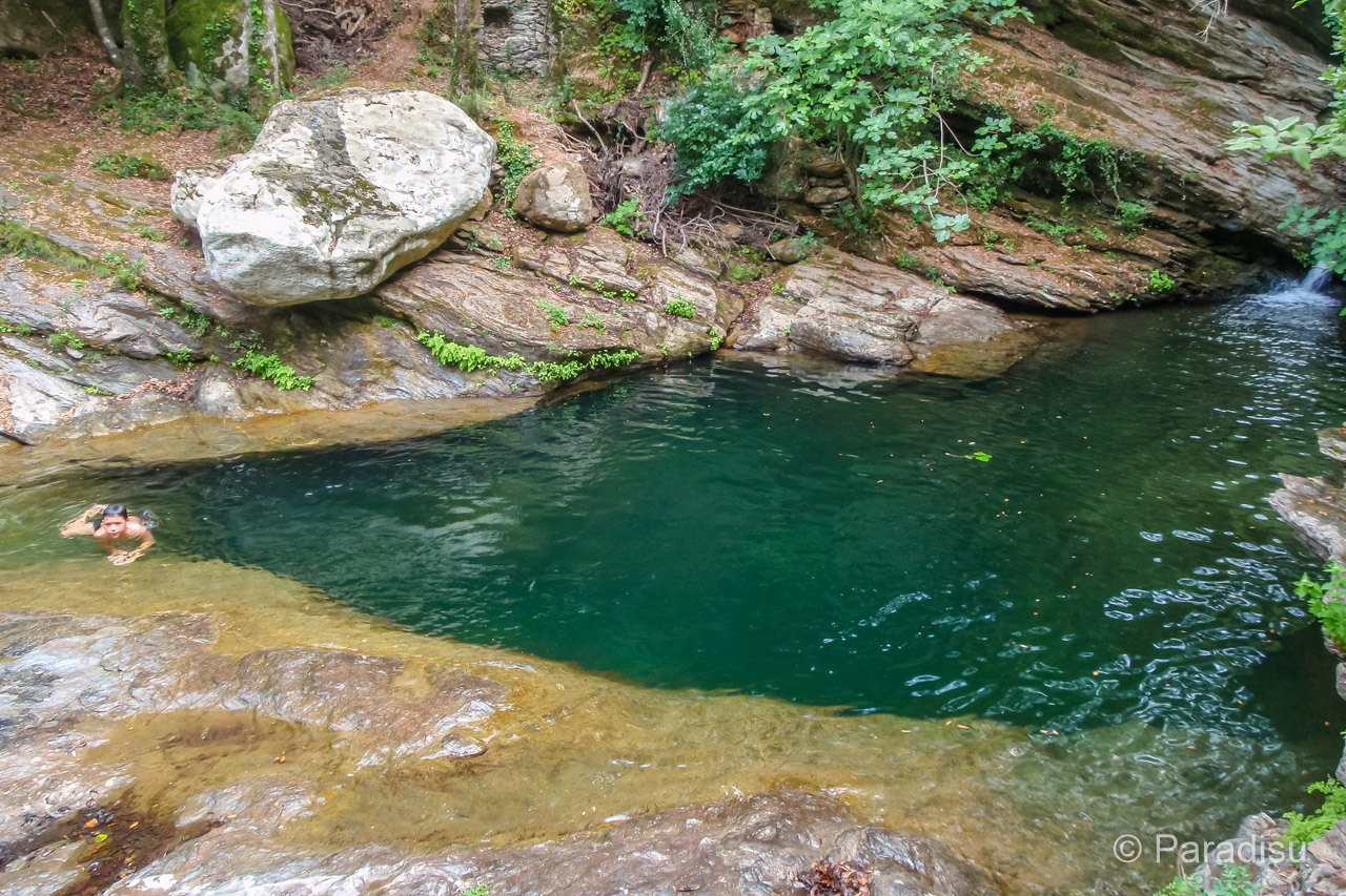 Flussbadestelle Bei Pietracorbara