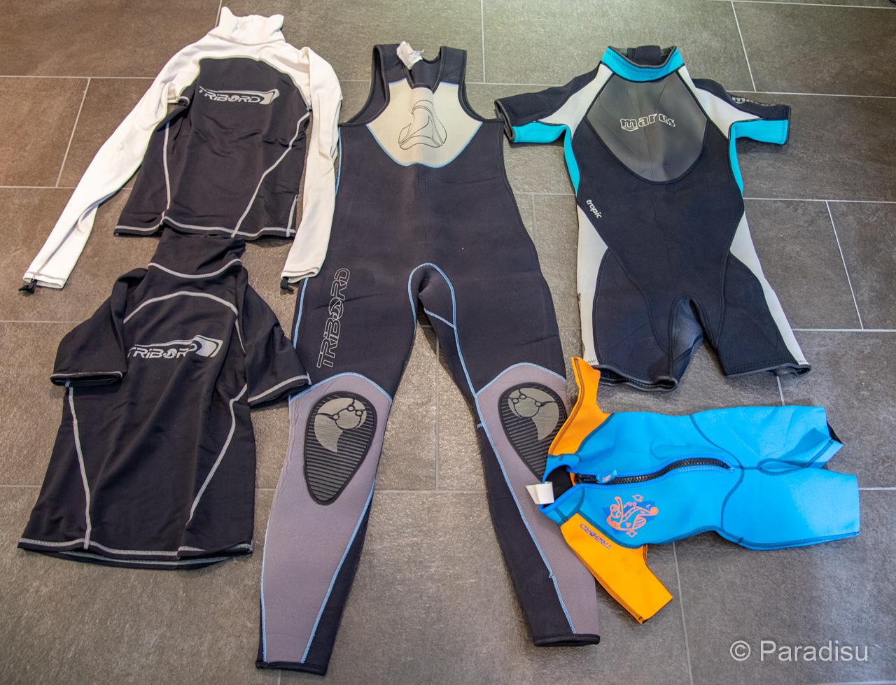 Ausrüstung Flusswandern Neoprenanzüge - Equipement randonnée aquatique