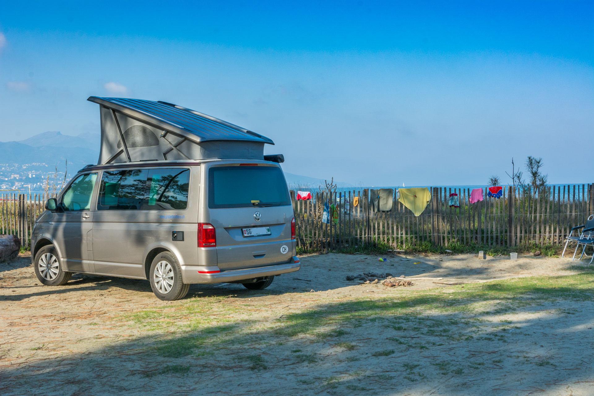 Camping Korsika Mit VW Bus