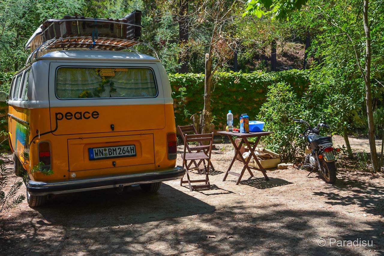 VW Bus Auf Korsika