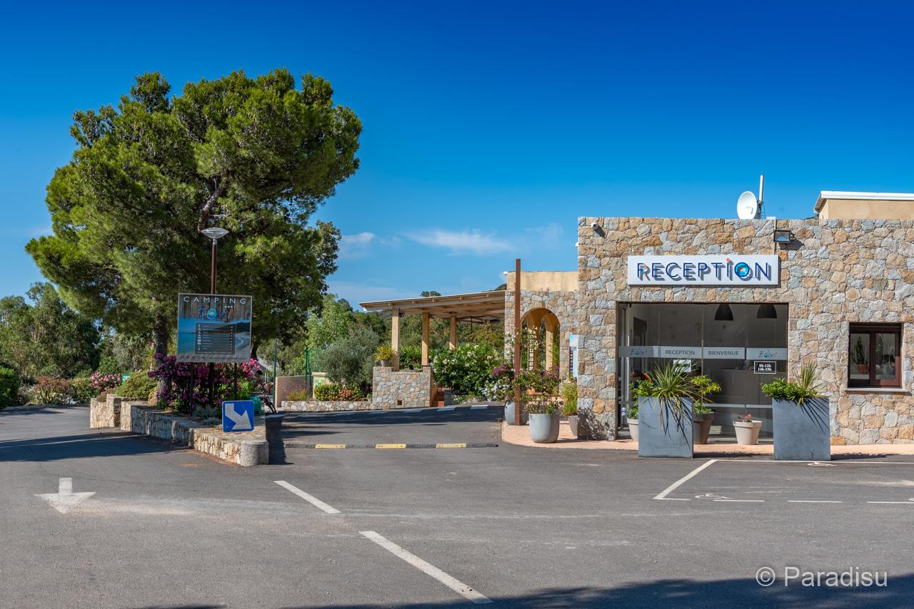 Camping En Corse 10 Reception