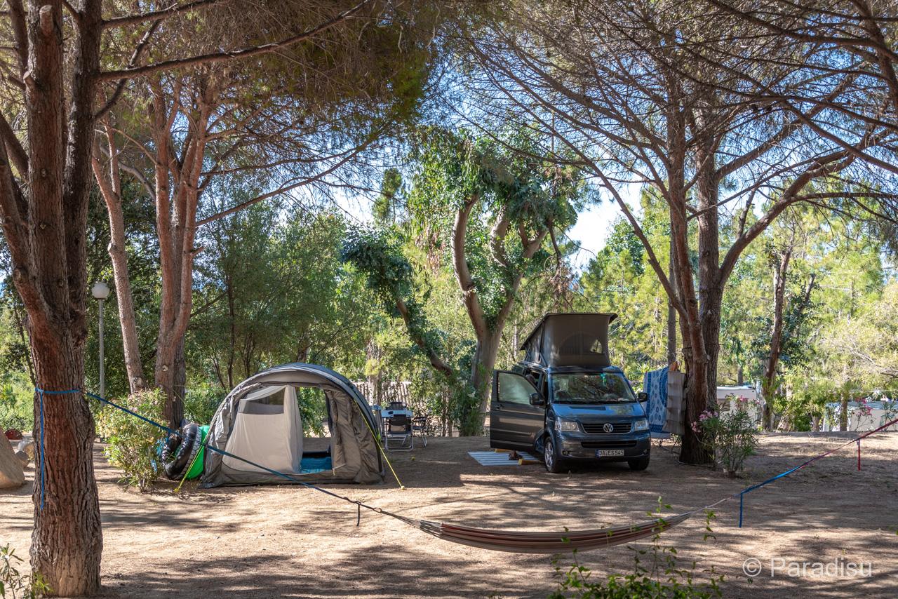 Camping En Corse 11 VW Bus En Corse