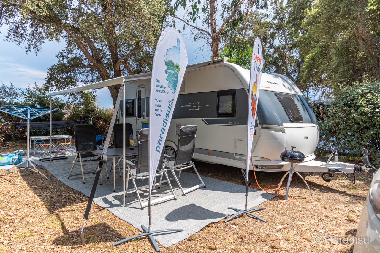 Camping En Corse 14 Caravane