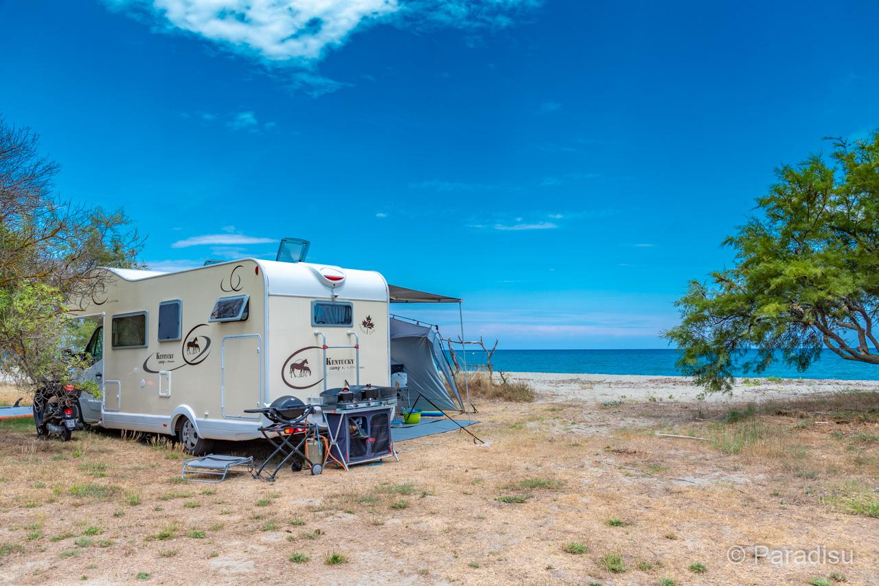 Camping En Corse 20 - Campingcar Au Bord De Mer