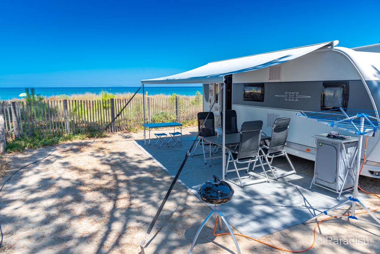 Camping En Corse 22 - Caravana Au Bord De Mer