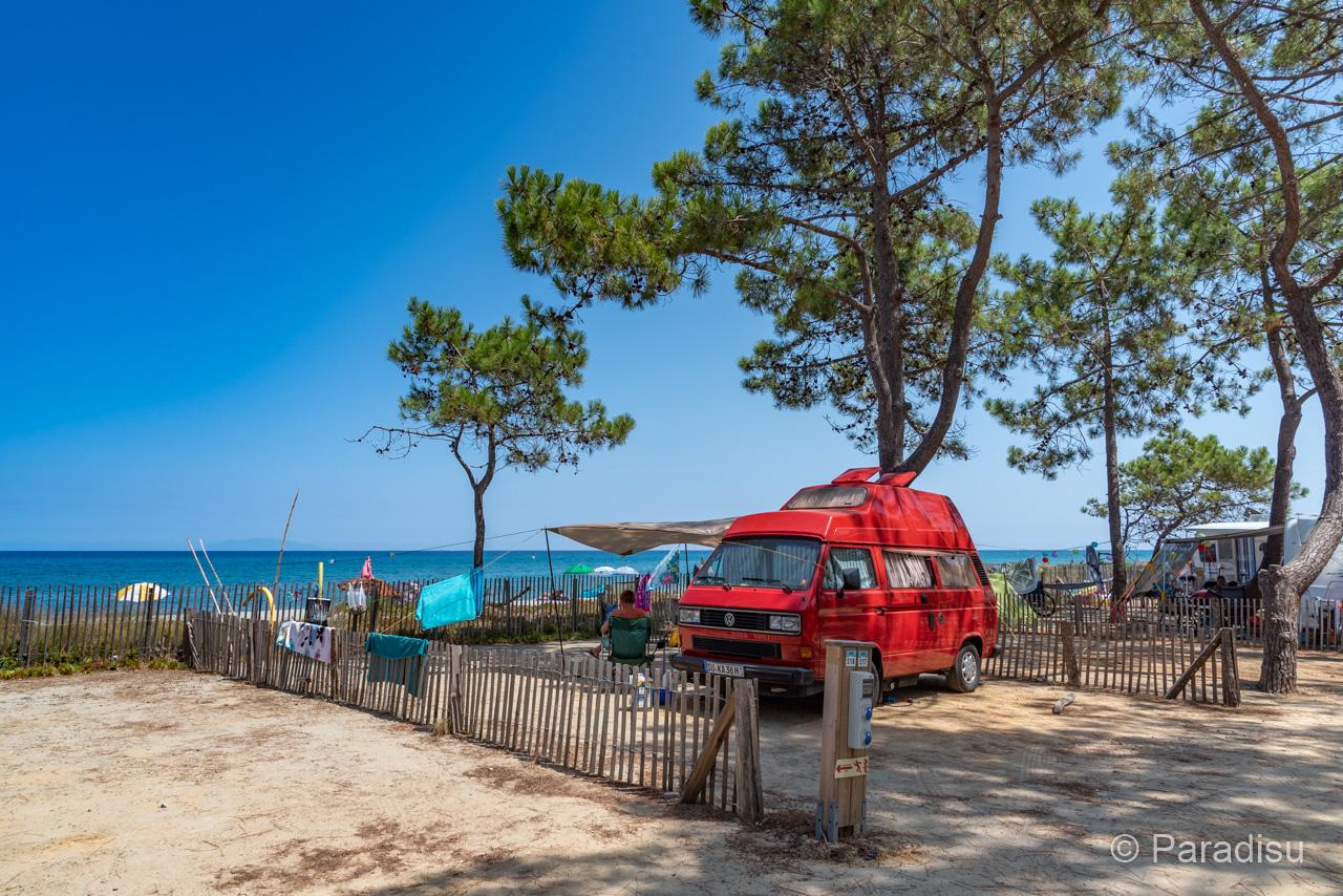Camping En Corse 23 - VW Bus En Bord De Mer