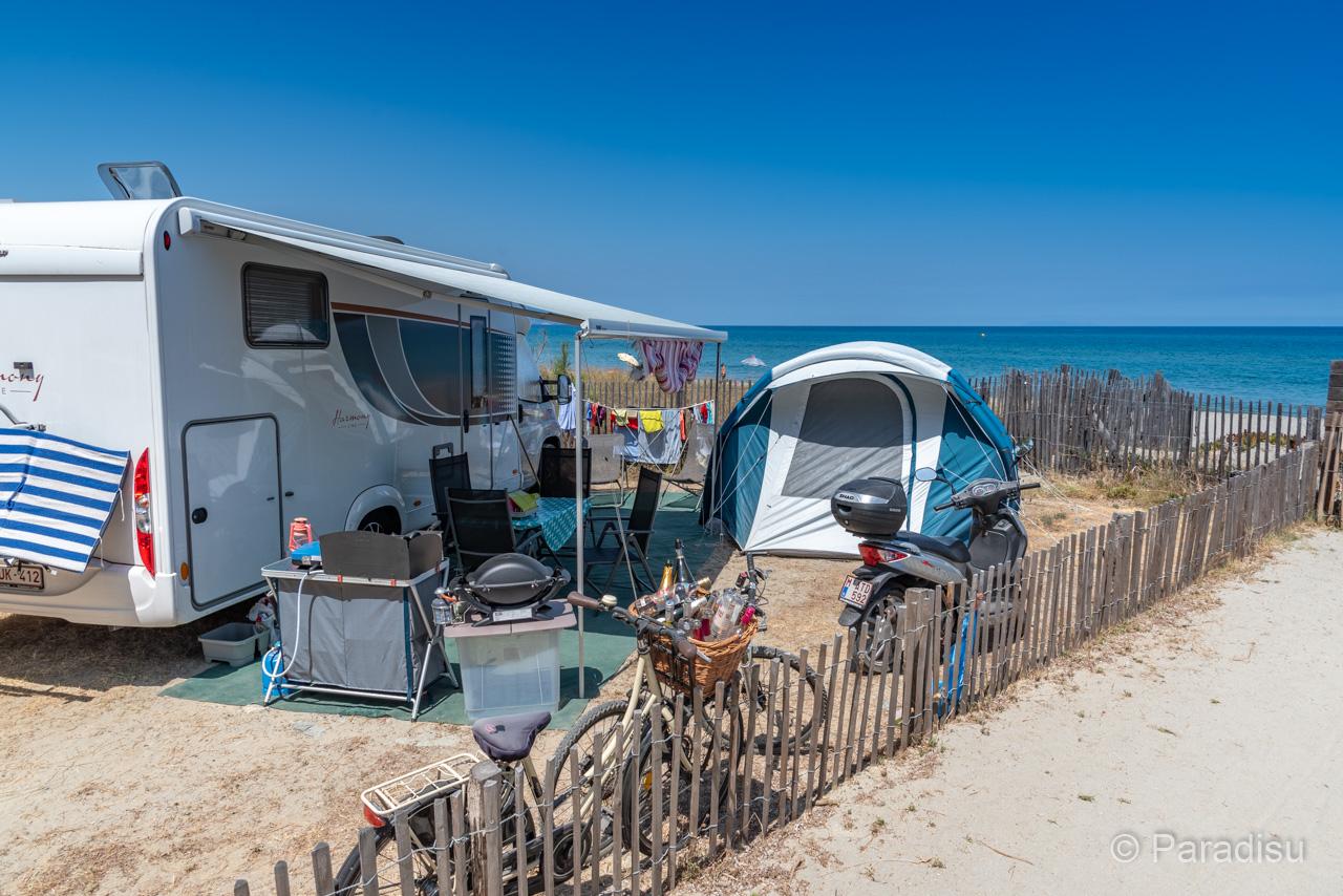 Camping En Corse 24 - Camingcar Au Bord De Mer