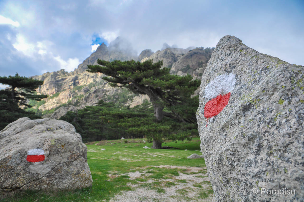 Fernwanderwege auf Korsika