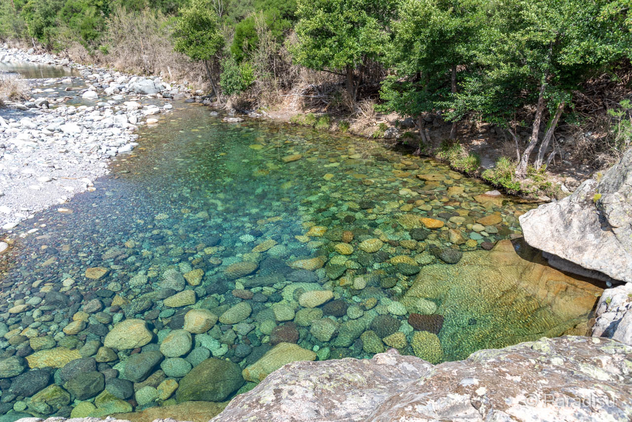 Flussbadestelle Asco Les Trois Plages De Mulindina