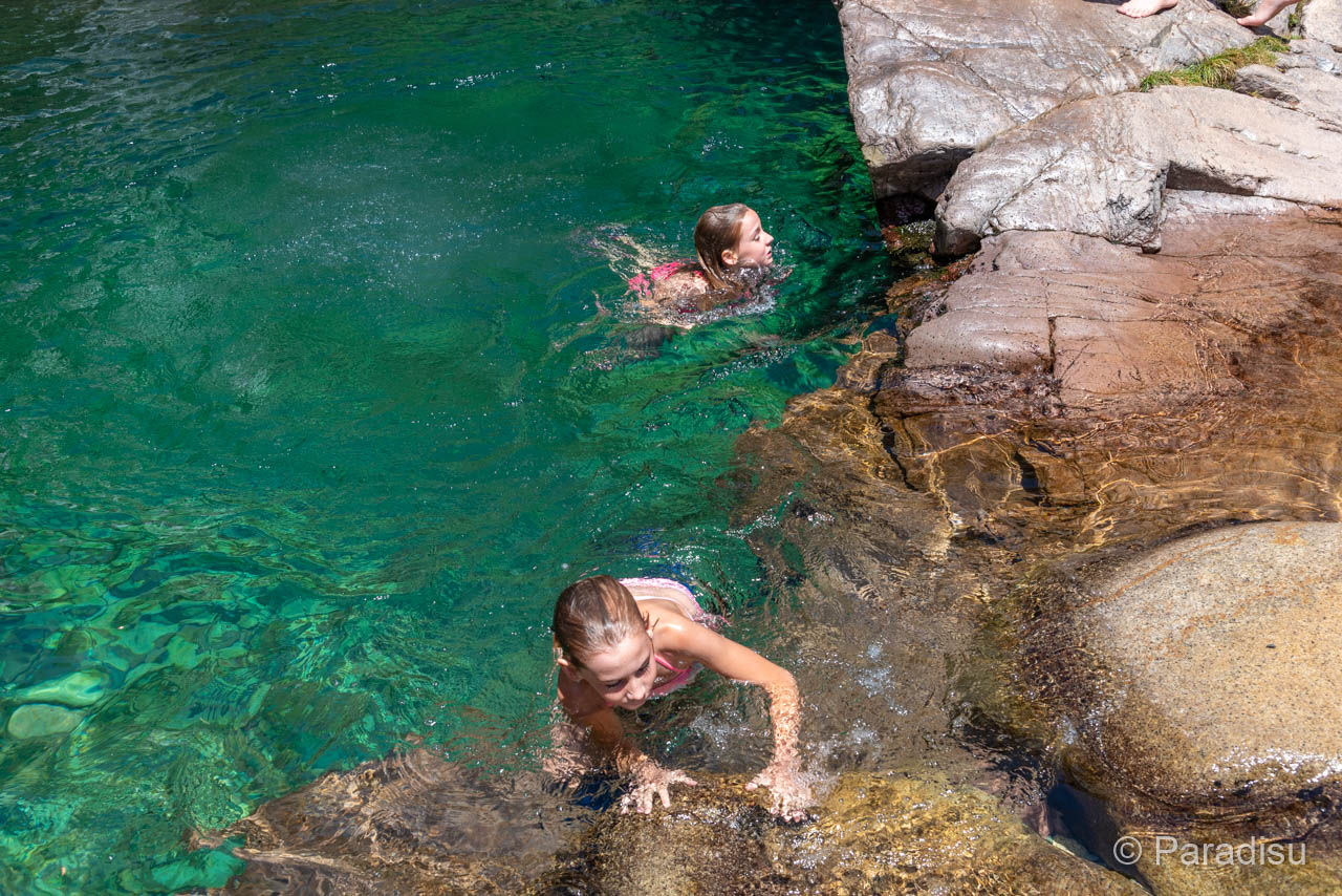 Flussbadestelle Cascade de Radule