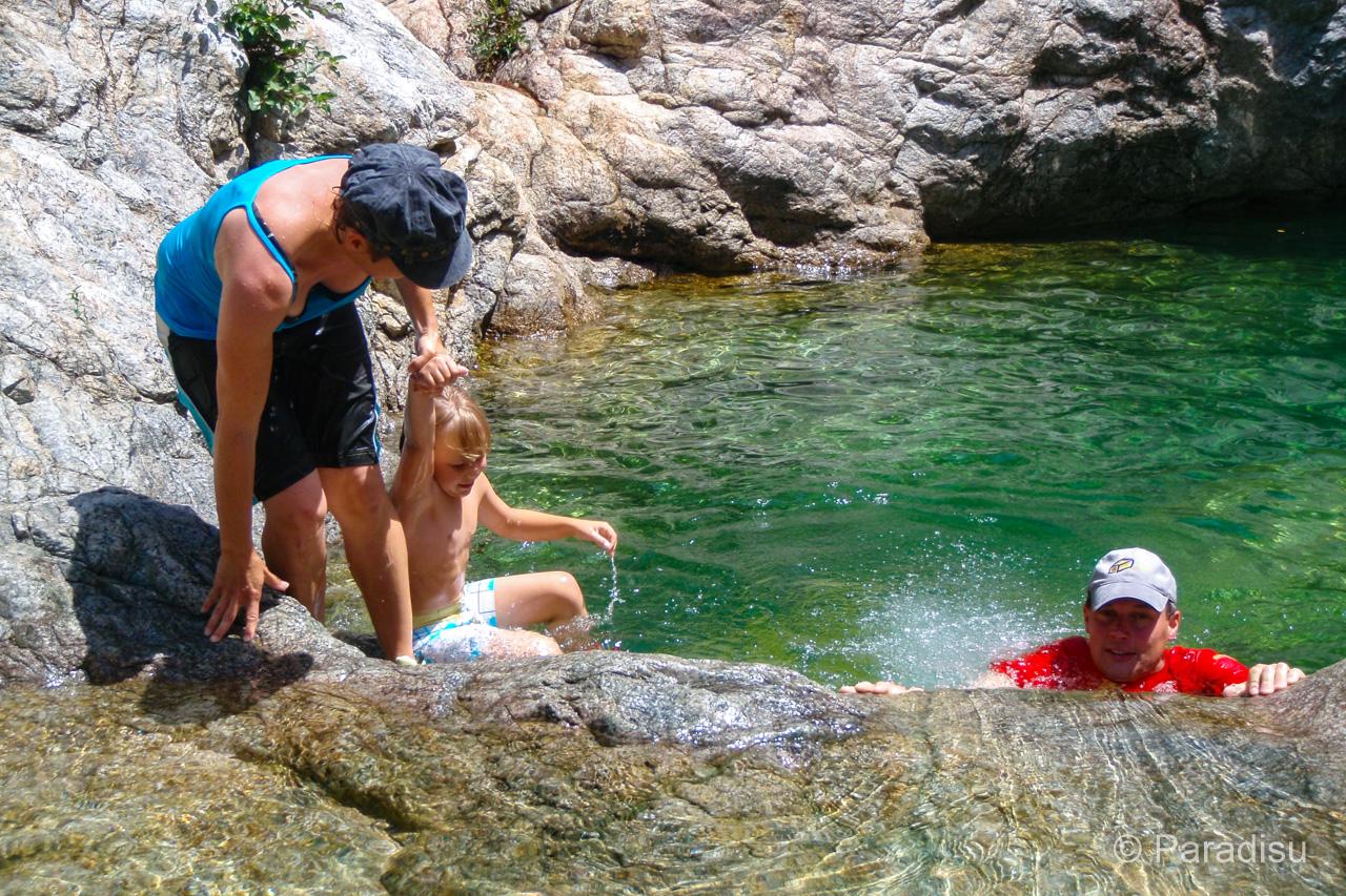 Randonnée Aquatique Dans Le Fiumicelli