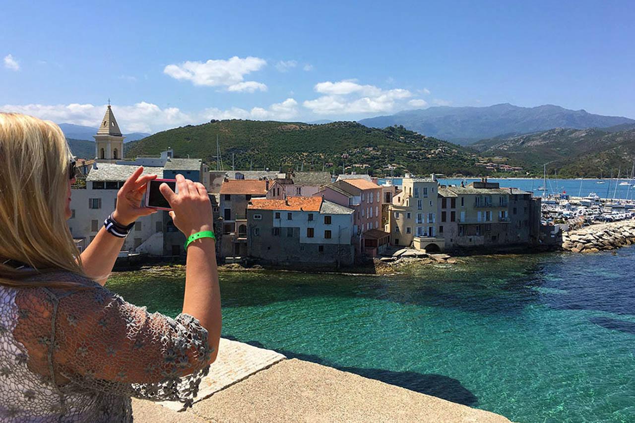 Französisch Sprachkurs Korsika Ausflug St-Florent