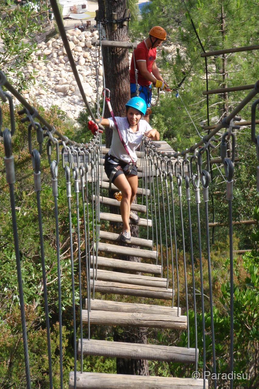 Hochseilgärten auf Korsika