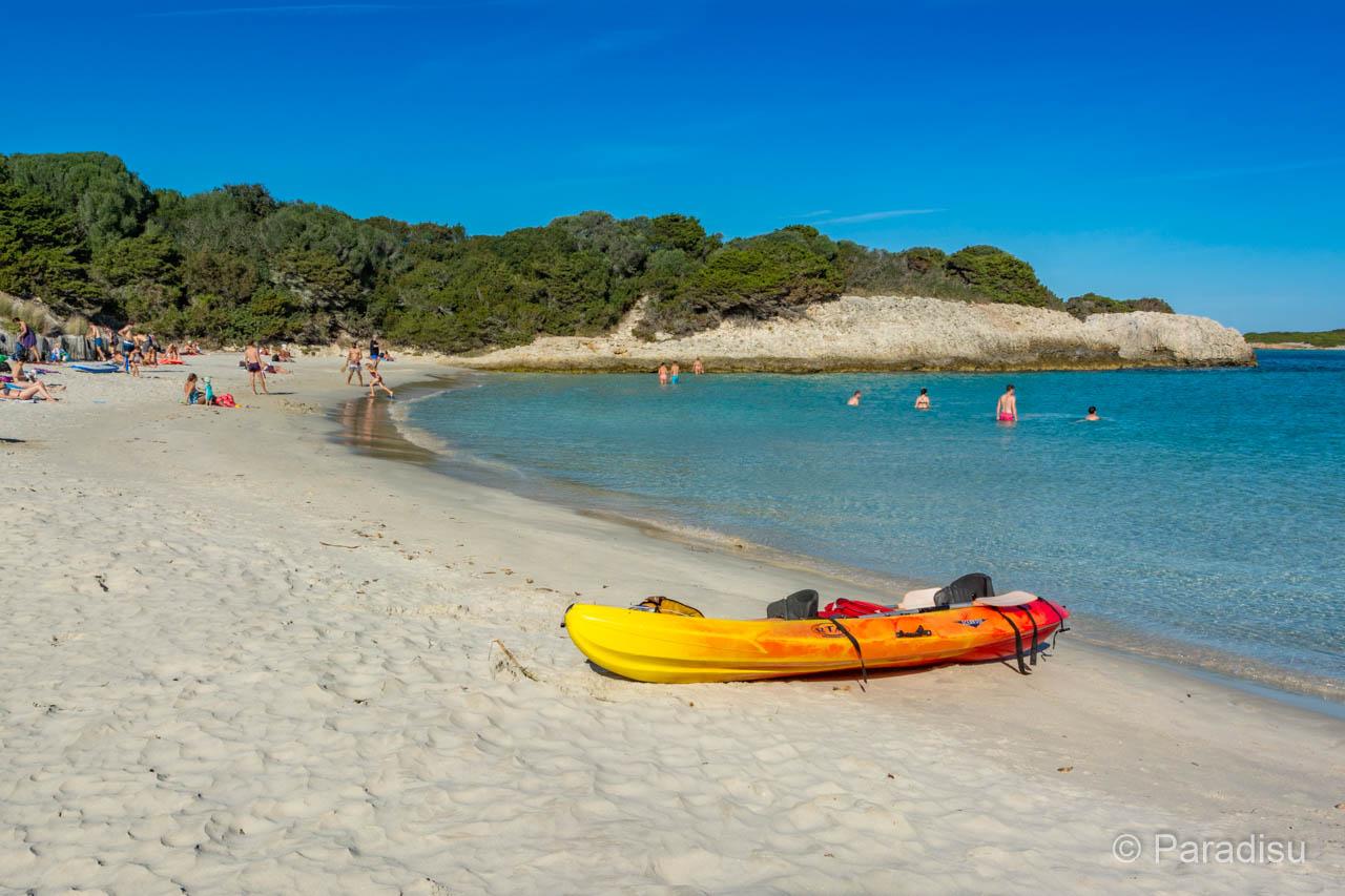 Kleiner Strand Von Sperone Strände Im Süden Von Korsika