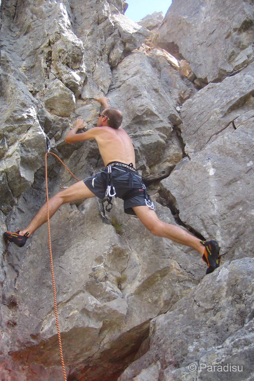 Klettern auf Korsika
