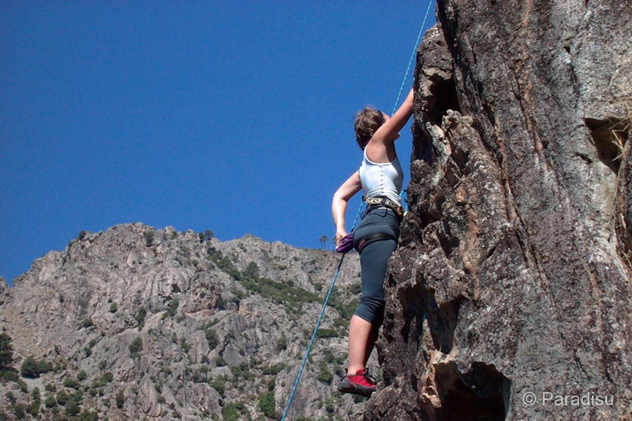 Klettern auf Korsika Restonicatal