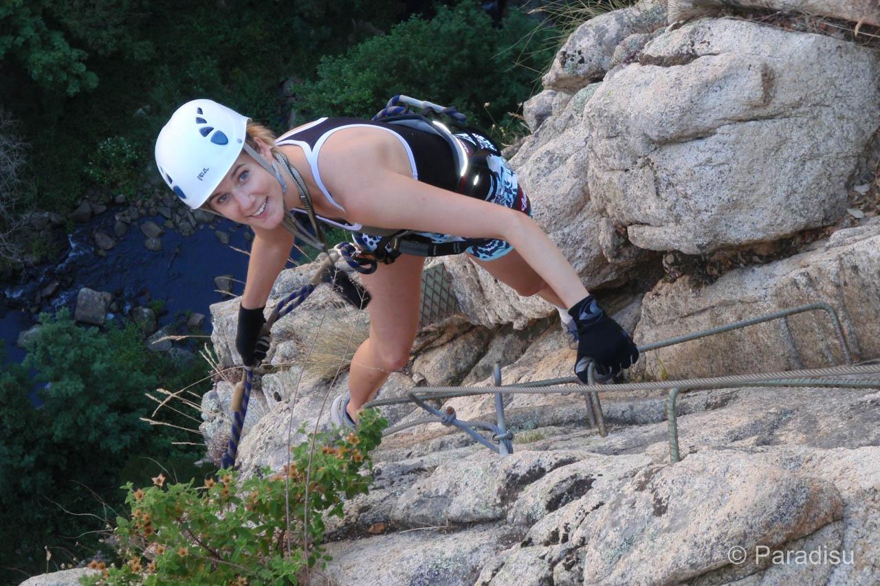 Klettersteig Auf Korsika