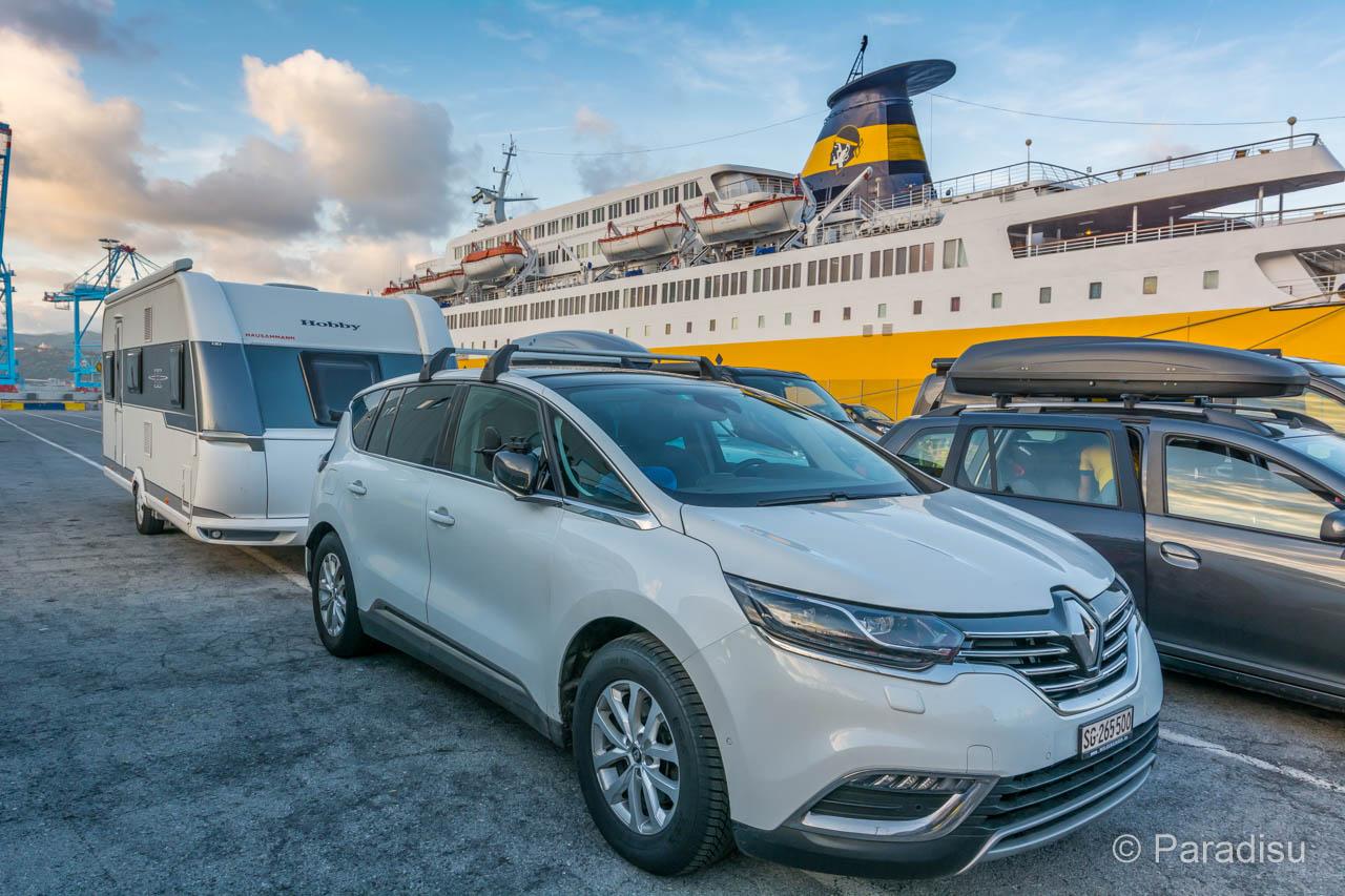 Korsika Anreise Fährhafen
