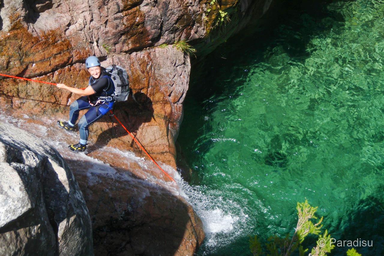 Korsika Canyoning