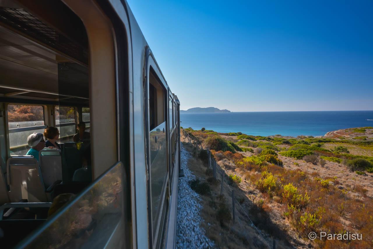 Korsika Eisenbahn: Eisenbahnstrecke Zwischen Calvi Und Ile-Rousse