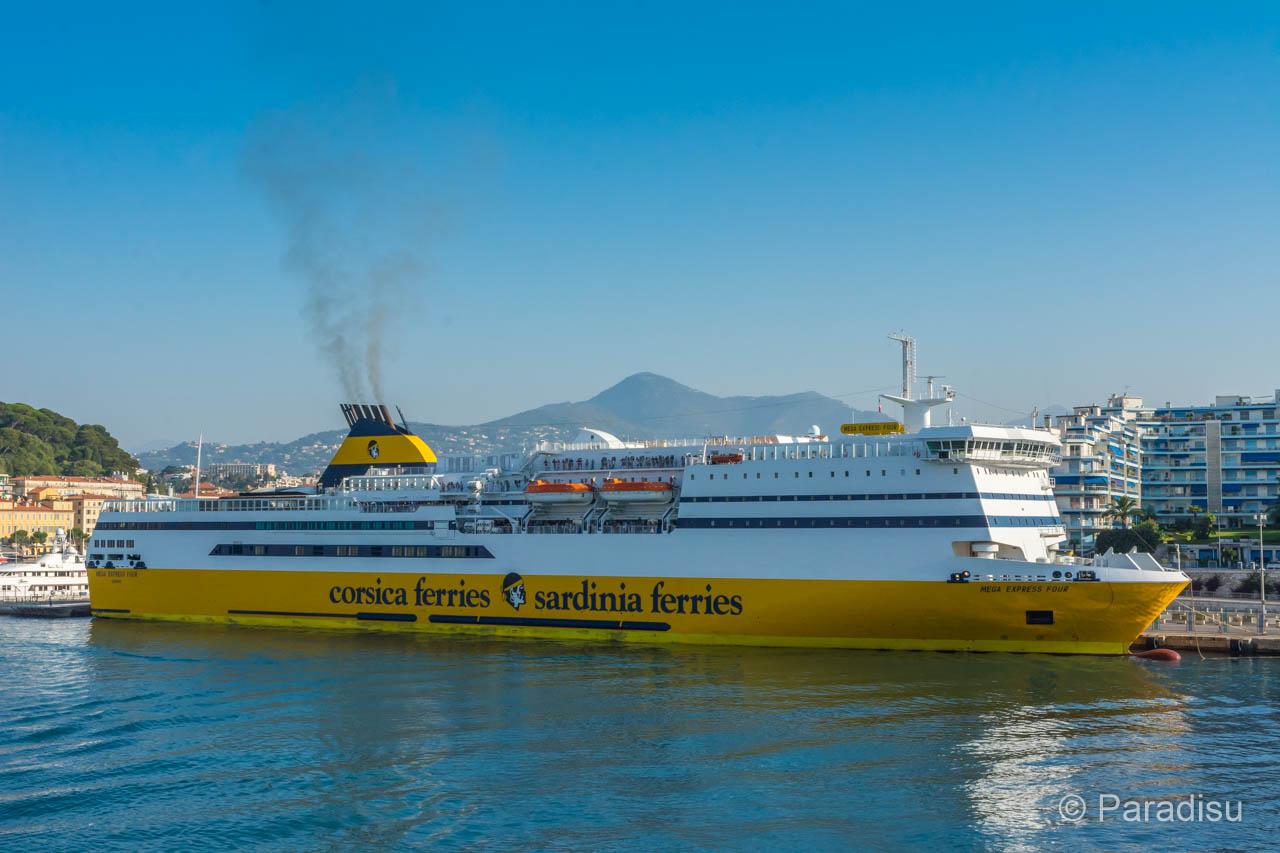 Korsika Fähre Corsica Ferries