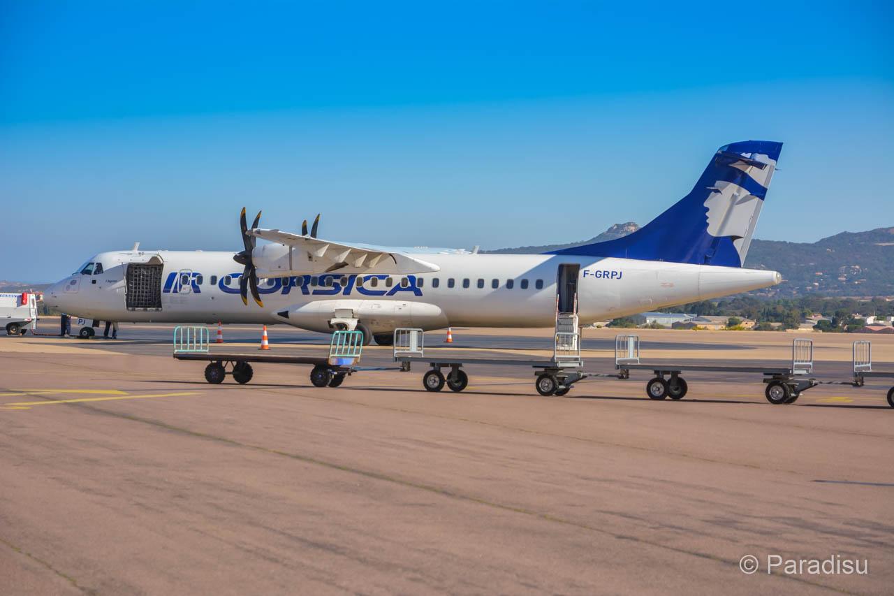 Korsika Flug Air Corsicia