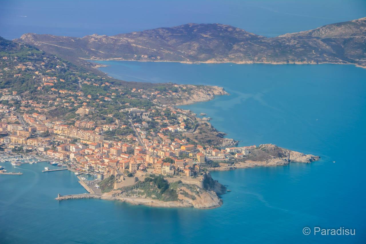 Korsika Flug Calvi