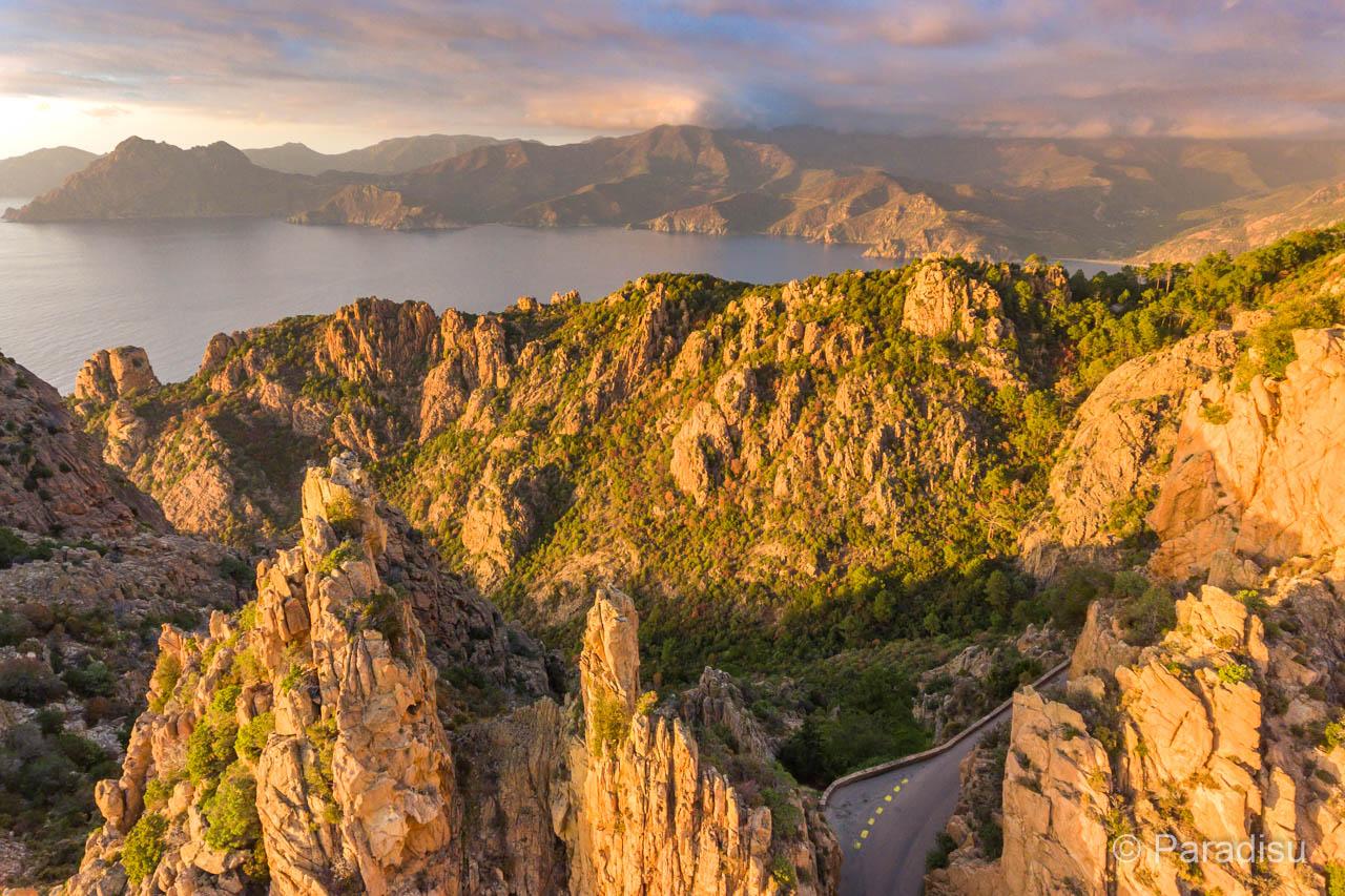 Korsika Highlights - Sites incontournables de Corse - Calanche Piana