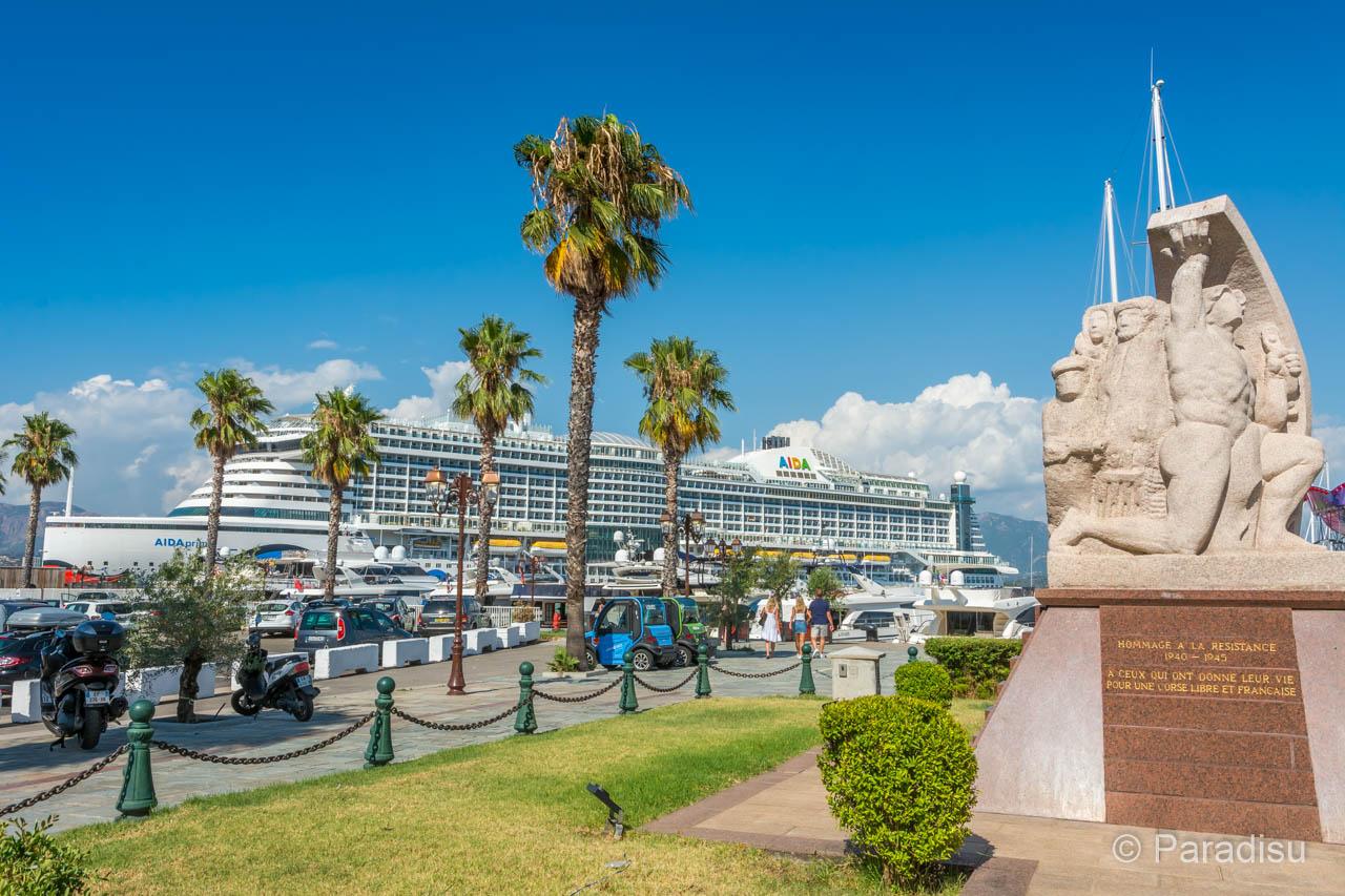 Kreuzfahrthafen Ajaccio