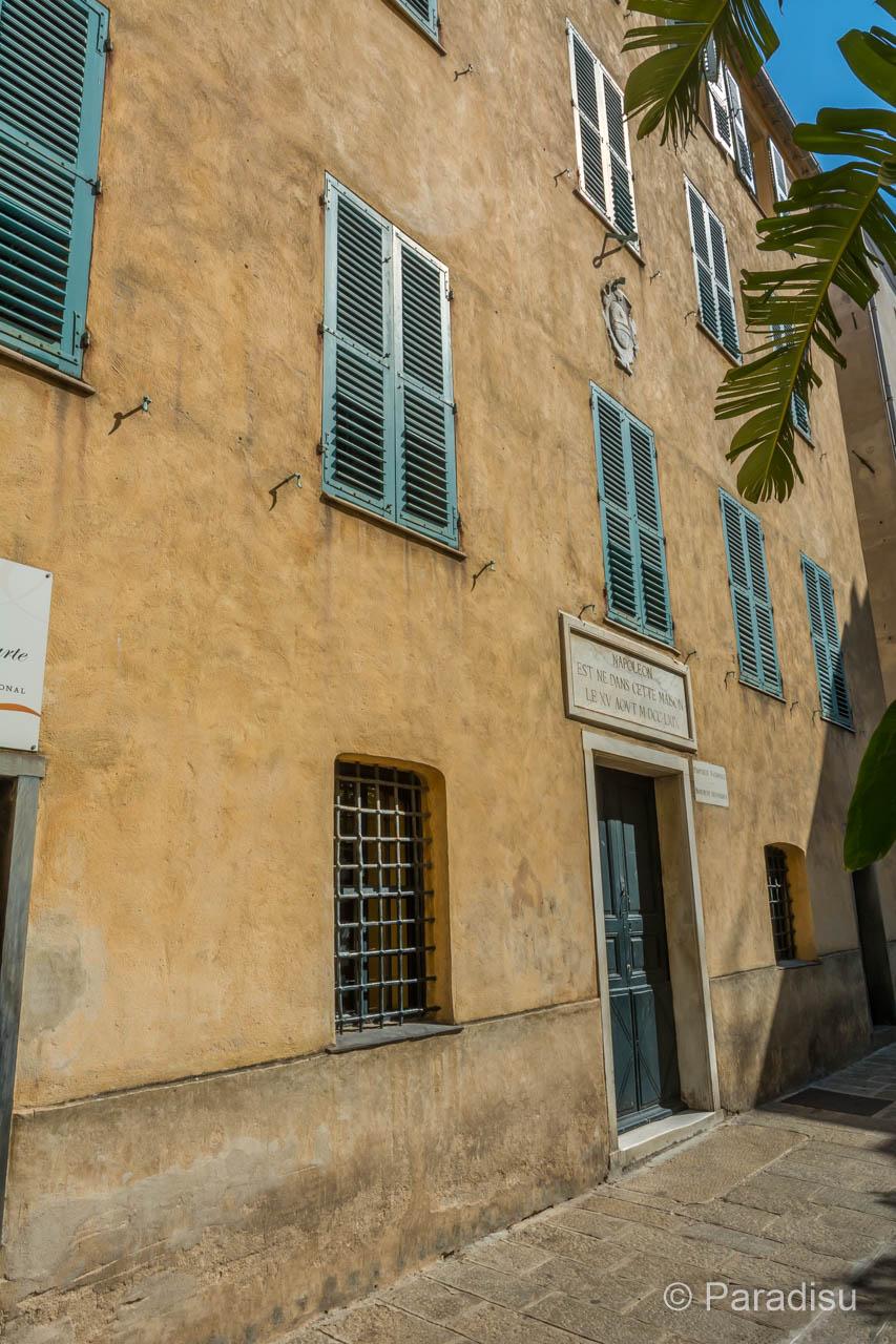 Korsika Kreuzfahrt Ajaccio Maison Napoleon Bonaparte