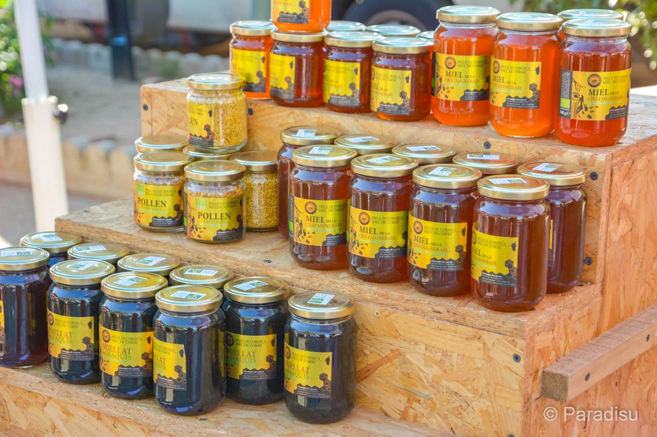 Korsika Markt Honig