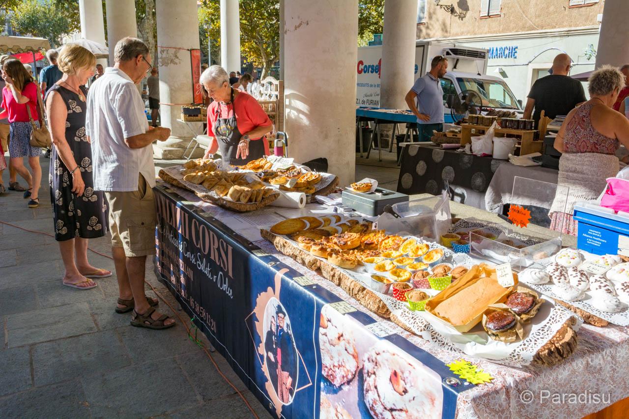 Korsika Markt
