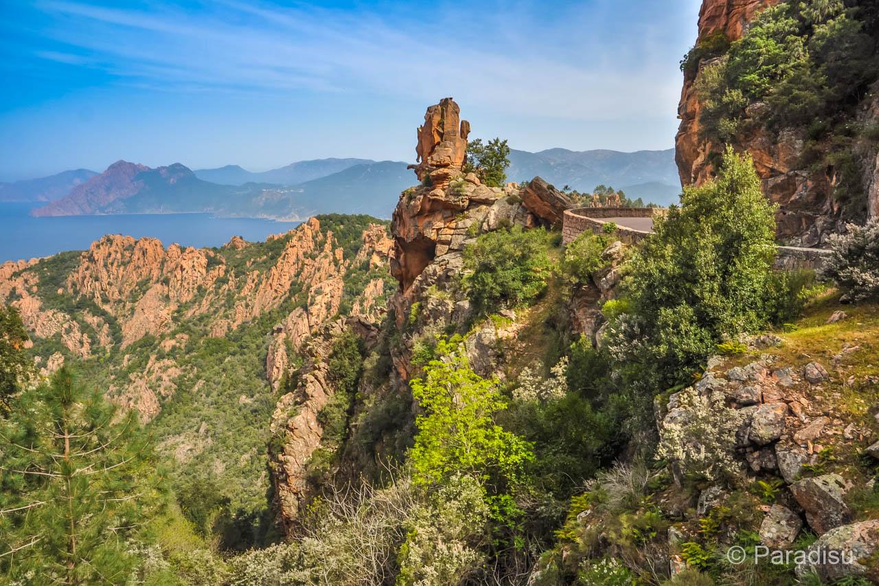 Korsika Rundreise Calanche