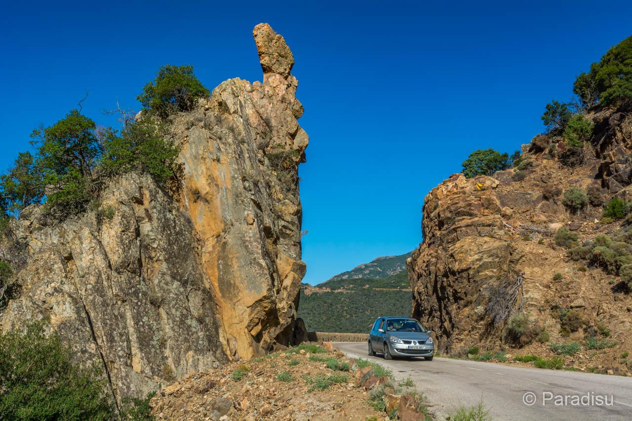 Korsika Rundreise Strasse