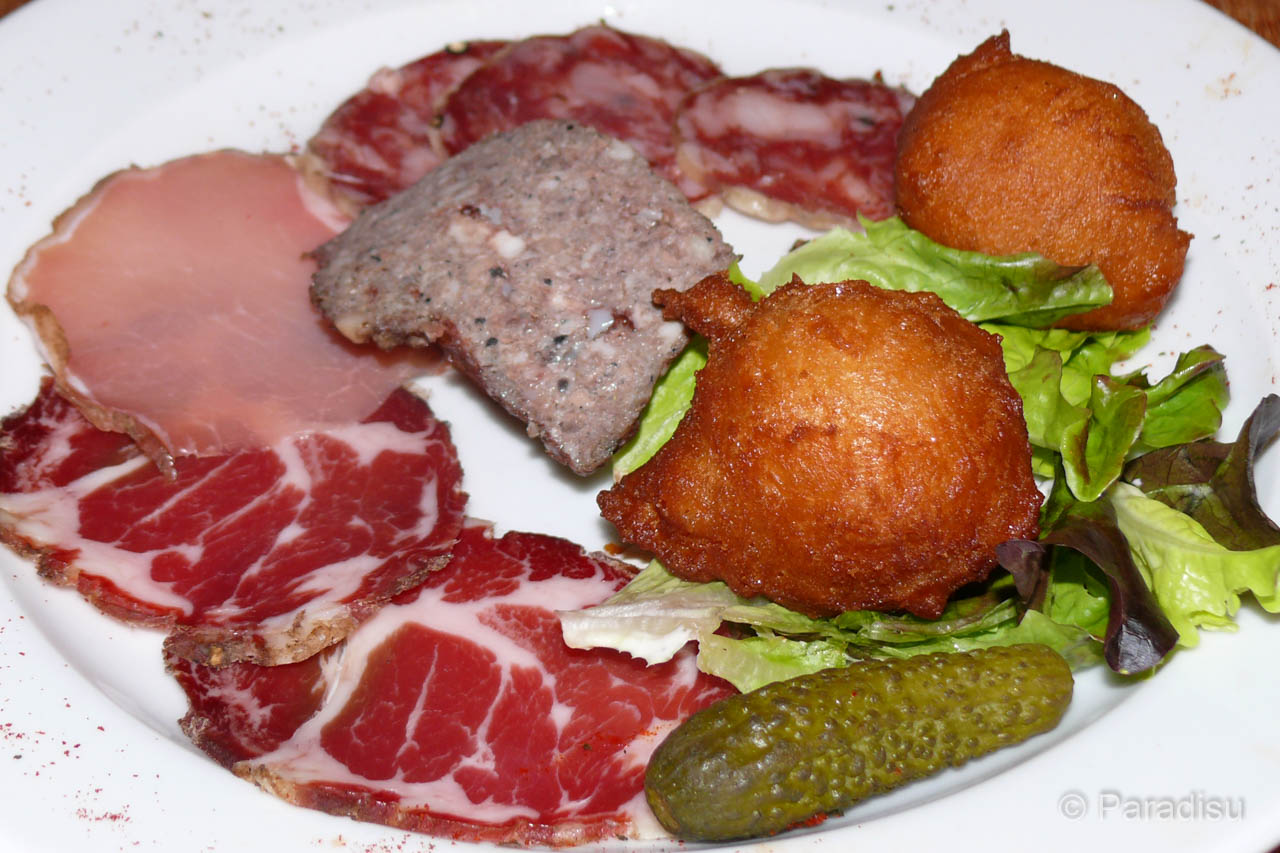 Vorspeise Assiette Corse