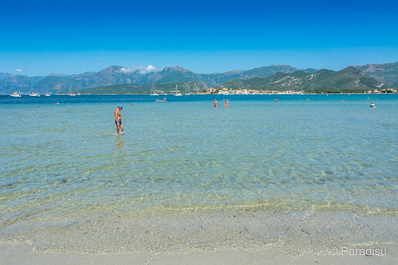 Strand Von La Roya Bei St-Florent