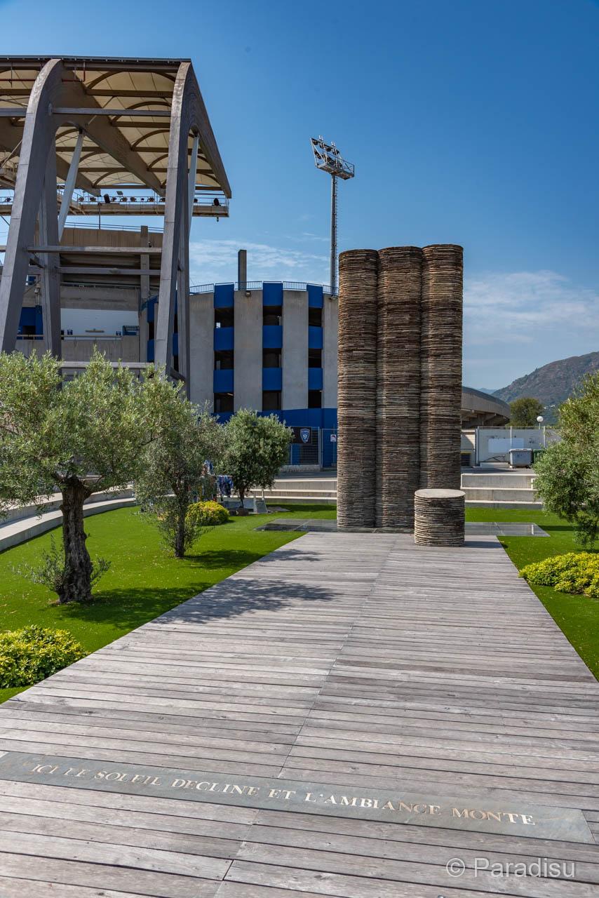 Stade Armand Cesari SC Bastia