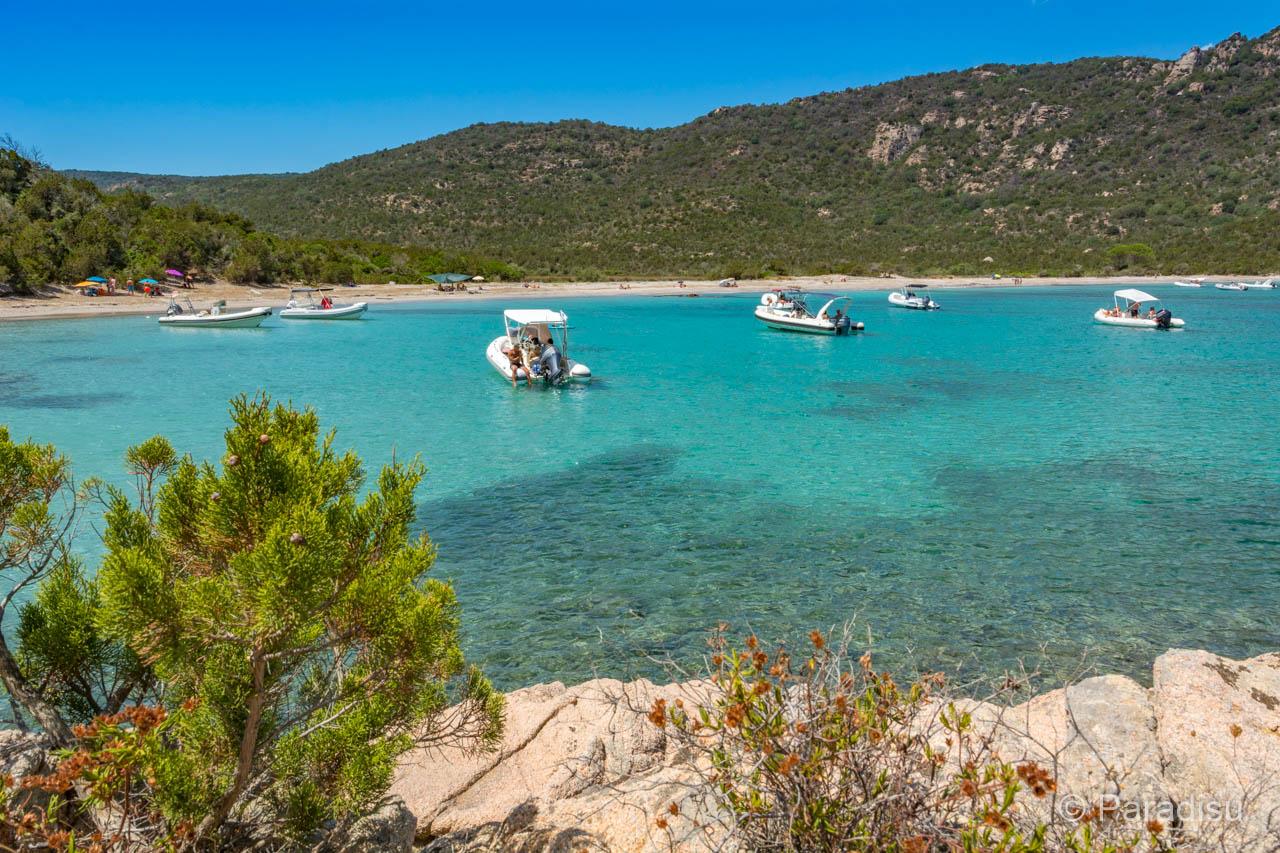 Strand Von Porto Novo Strände Im Süden Von Korsika