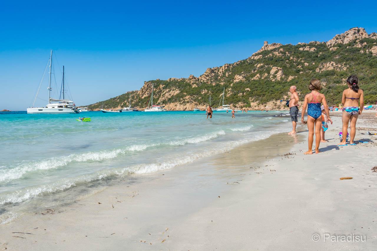 Strand Von Roccapina Strände Im Süden Von Korsika