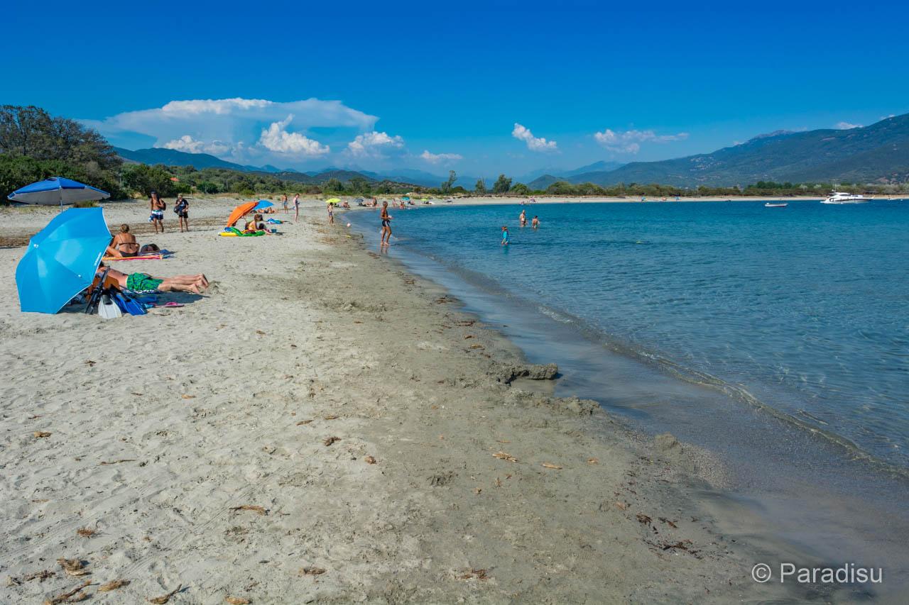 Strand Von Taravo Strände Im Golf Von Valinco