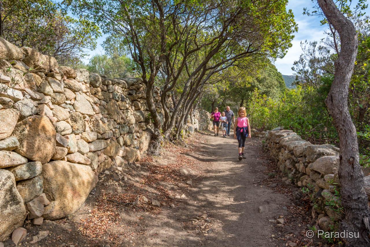 Wanderung Sentier Du Patrimoine Monacia D'Aullene