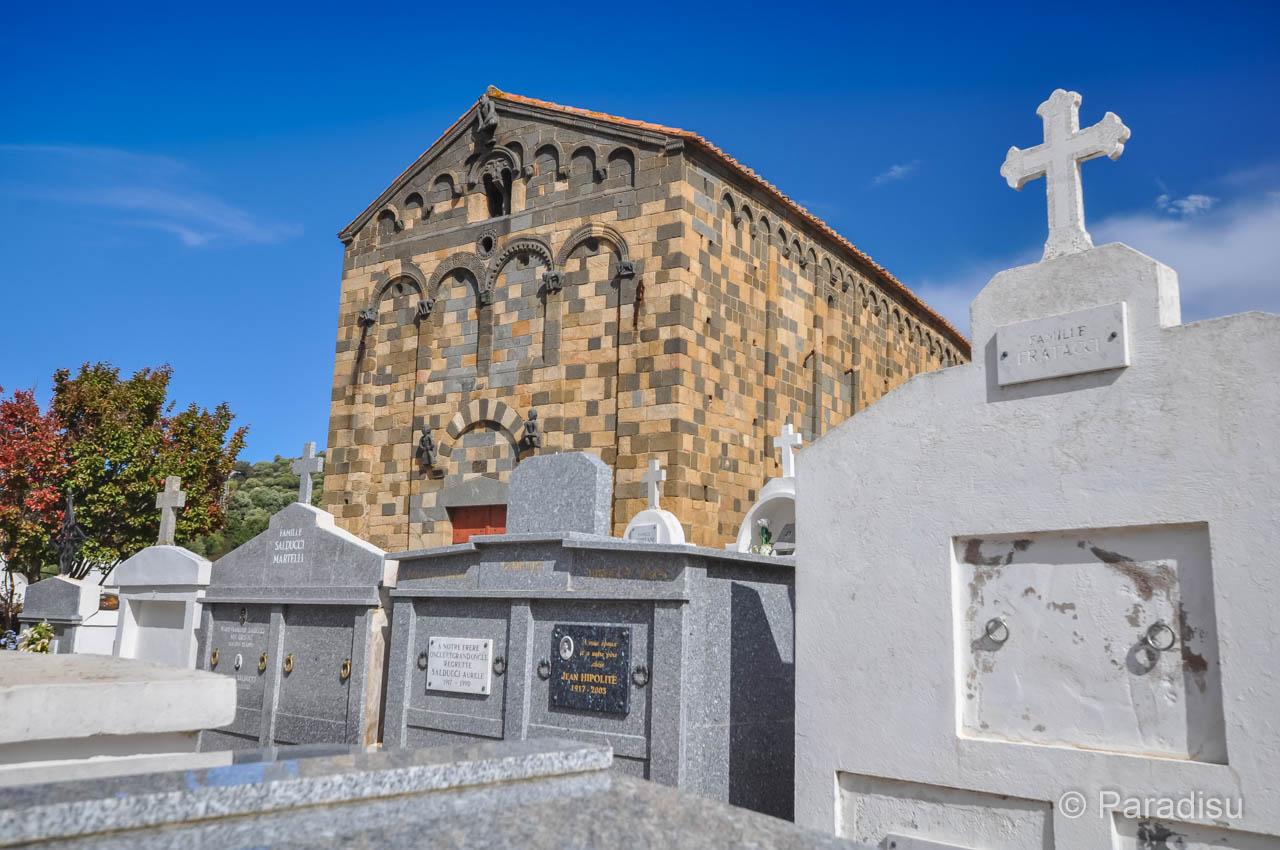 Aregno Eglise De La Trinità
