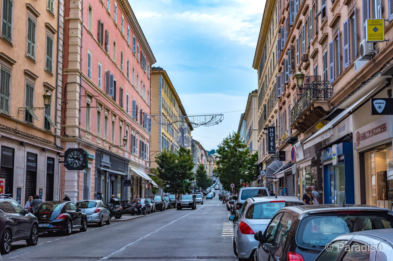 Bastia Boulevard Paoli
