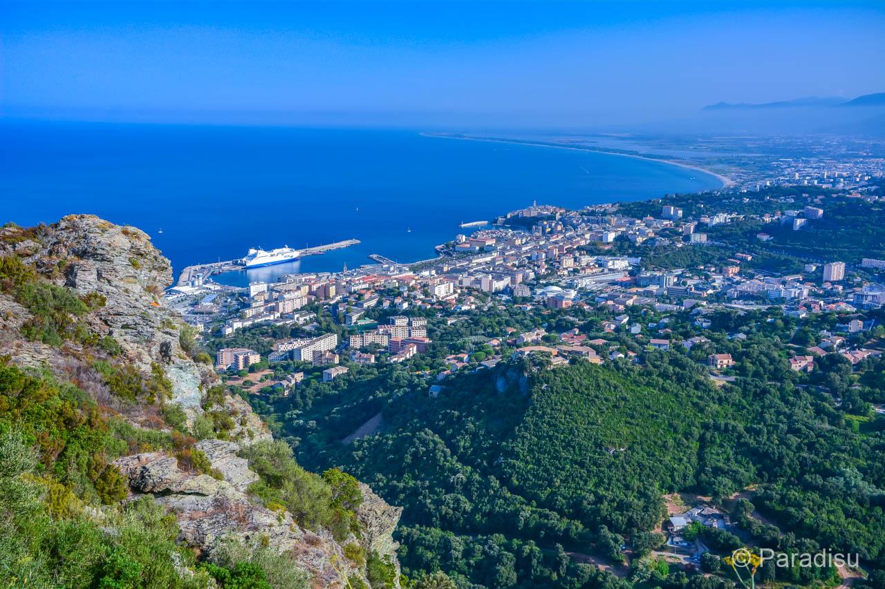 Bastia Von Der D31 Nach San Martino Di Lota