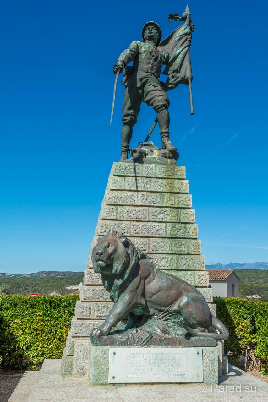 Bonifacio Denkmal der Fremdenlegion