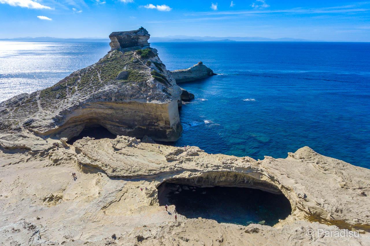 Capo Pertusato Mit Grotte