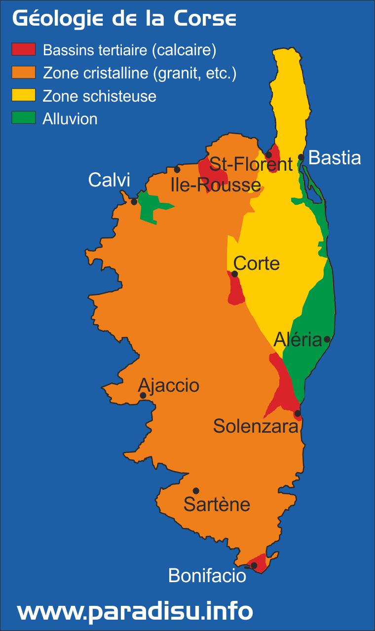 Géologie de la Corse