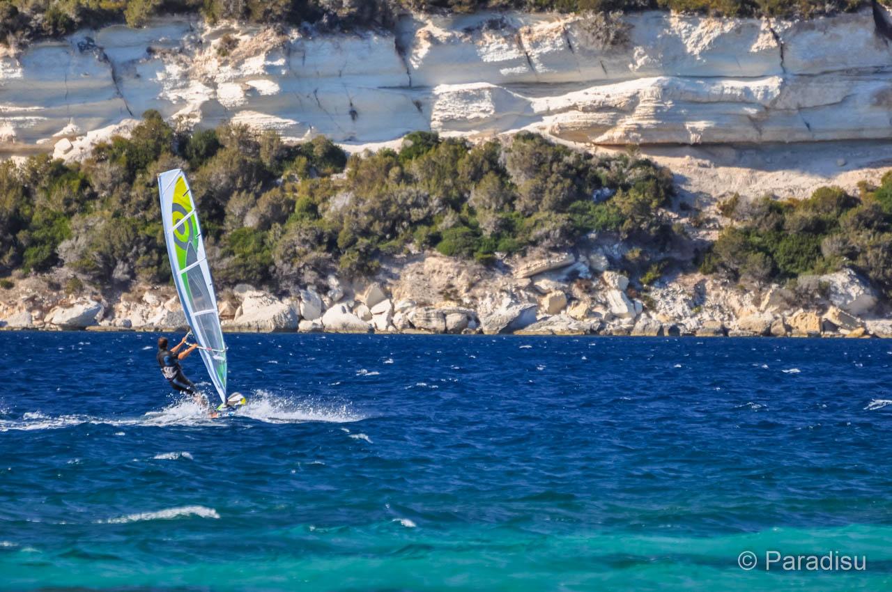 Sant'Amanza Windsurfen