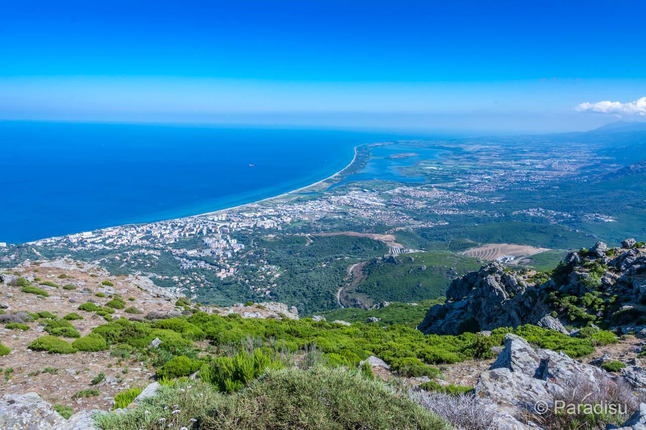 Côte orientale près de Bastia